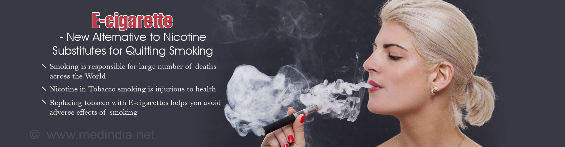 E-cigarette May Help to Quit Smoking With Minimal Side Effects, Suggest Studies