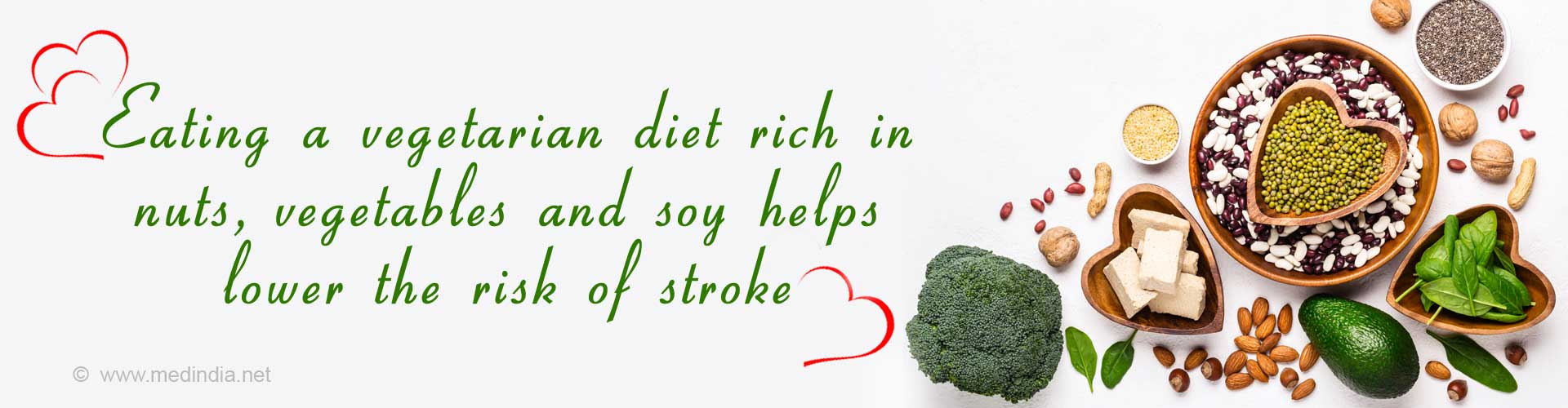 Vegetarian Diet Lowers Stroke Risk