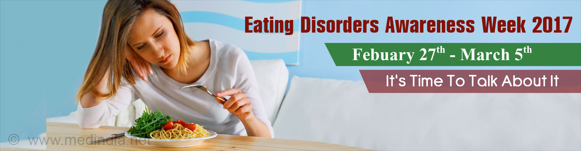 Eating Disorders Awareness Week 2017