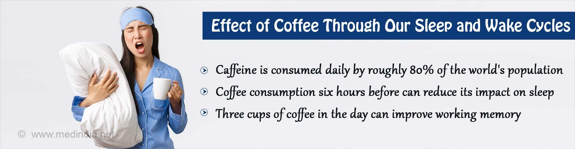 Coffee's Effect on Sleep-Wake Cycle Explored