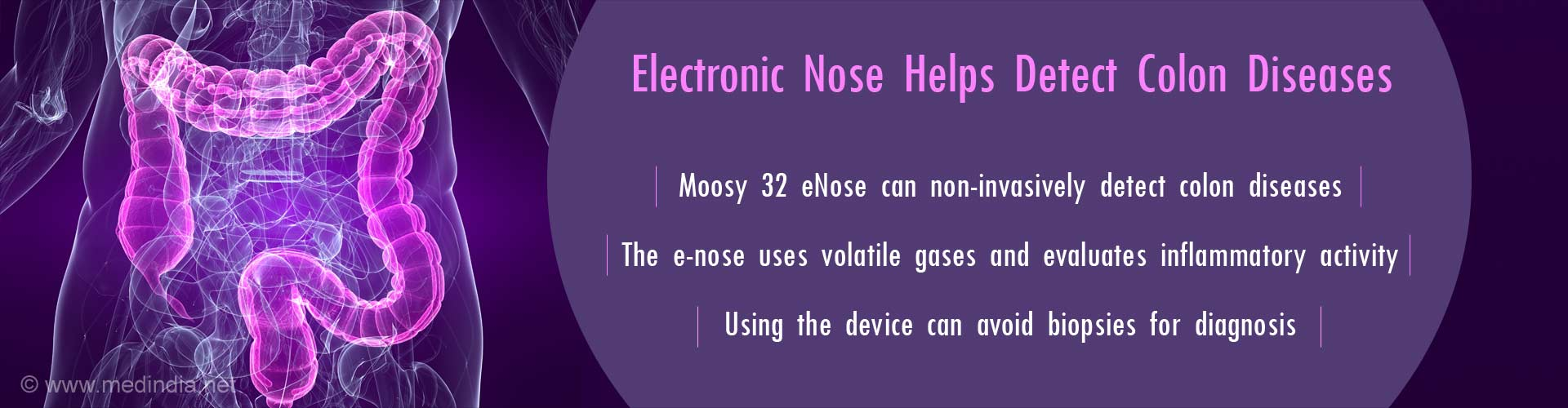 Moosy 32 ENose Detects Colon Disease Without A Biopsy