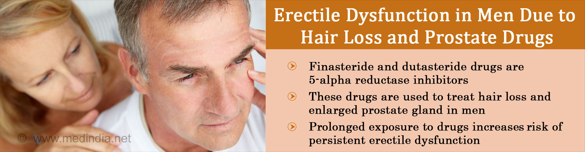 Hair Loss, Prostate Drugs Could Increase Persistent Erectile Dysfunction Risk in Men