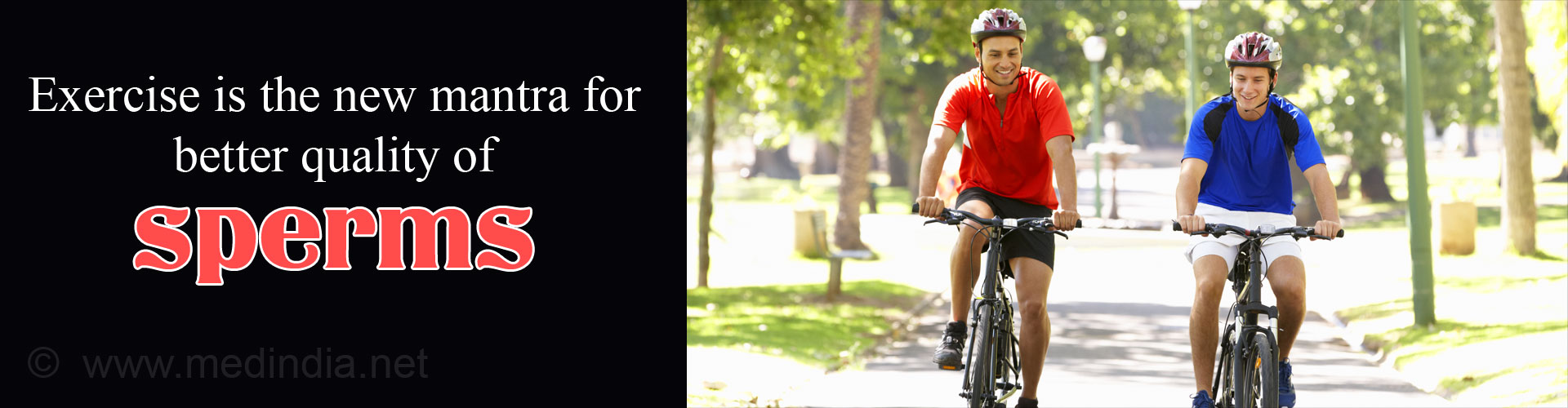 Moderate and Continuous Exercise Regimen may Boost Sperm Quality