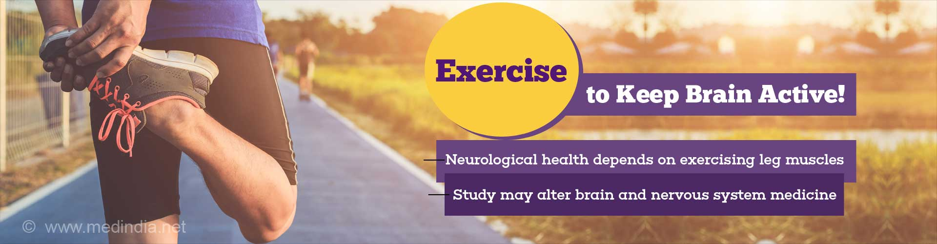 Exercising Leg Muscles Critical to Neurological Health