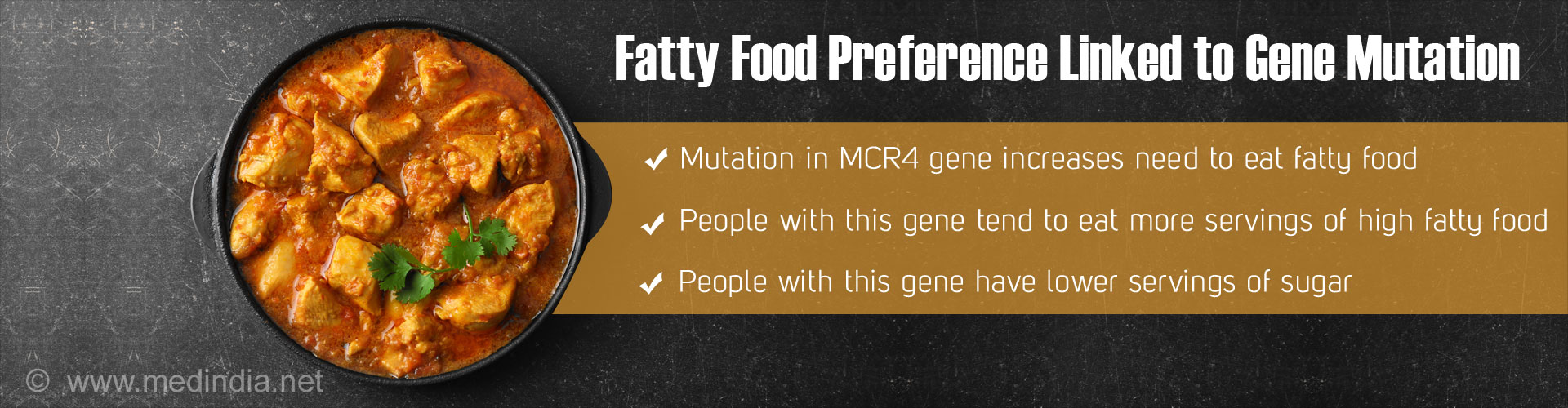 Gene Mutation Could Drive Us to Eat More Fat
