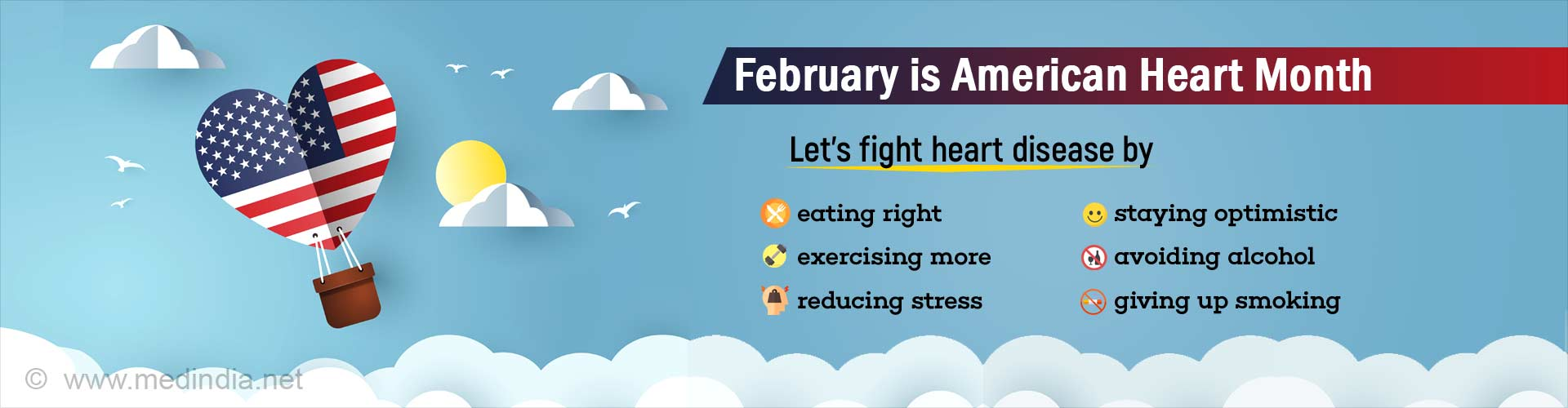 American Heart Month: Try to Manage Stress, Stay Optimistic, Avoid Heart Attacks