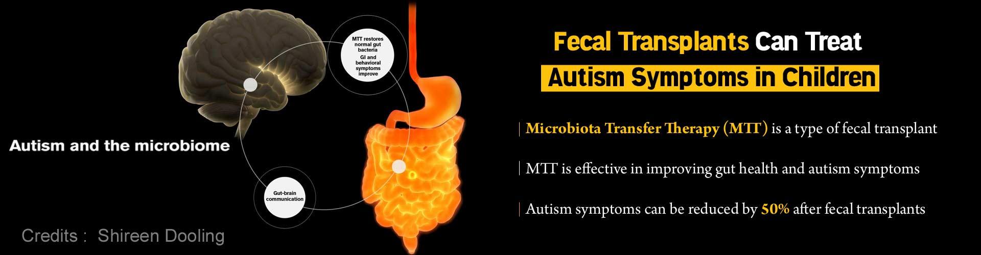 Fecal Transplants Help Reduce Autism Symptoms by Half