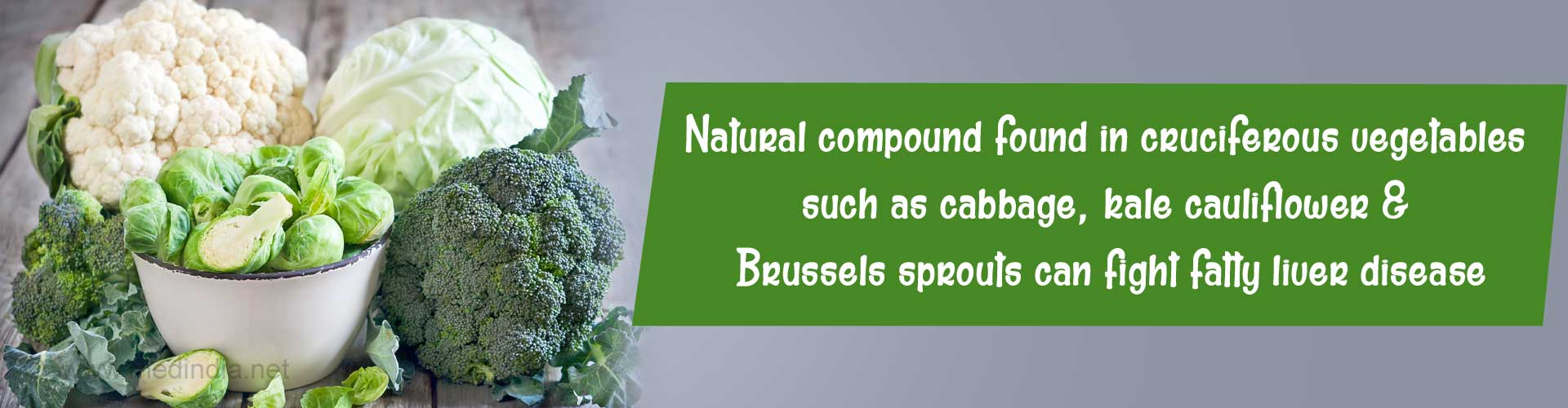 Natural Compound in Cruciferous Vegetables can Fight Fatty Liver Disease