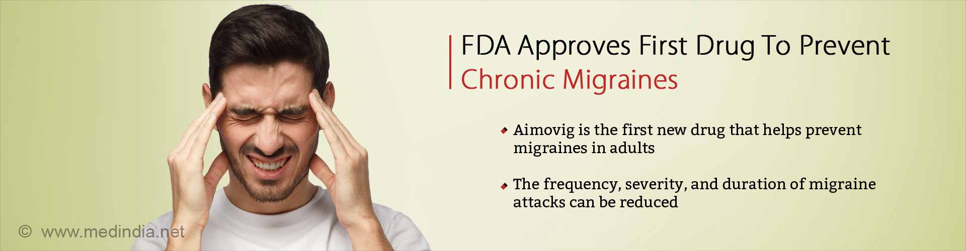 First Drug to Prevent Chronic Migraines Developed