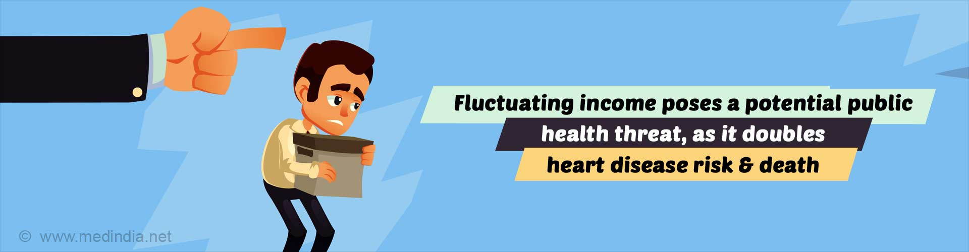 Fluctuating Income May Up Risk of Heart Disease
