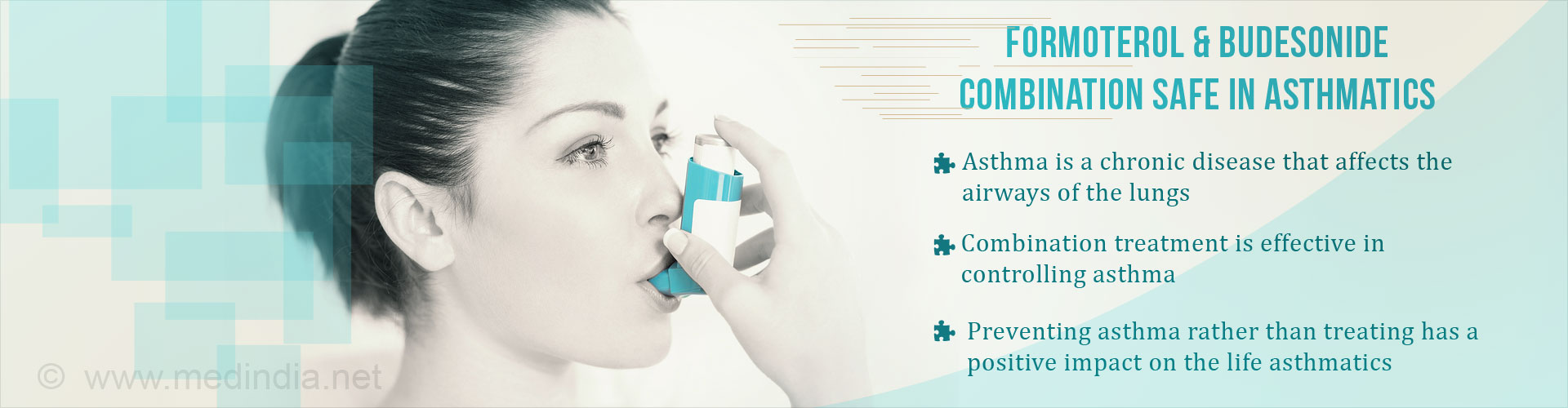 Formoterol and Budesonide Combination Safe in Asthma Patients