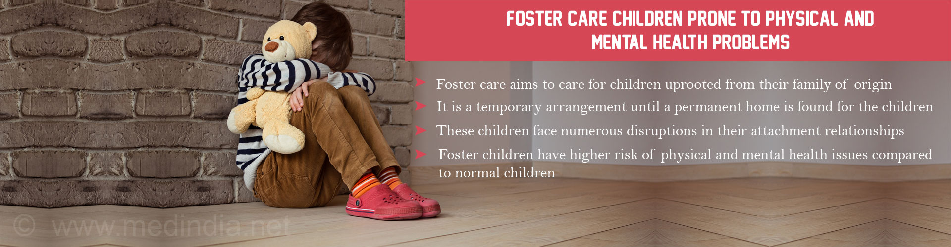 Children in Foster Care Have Higher Risk of Physical and Mental Health Issues