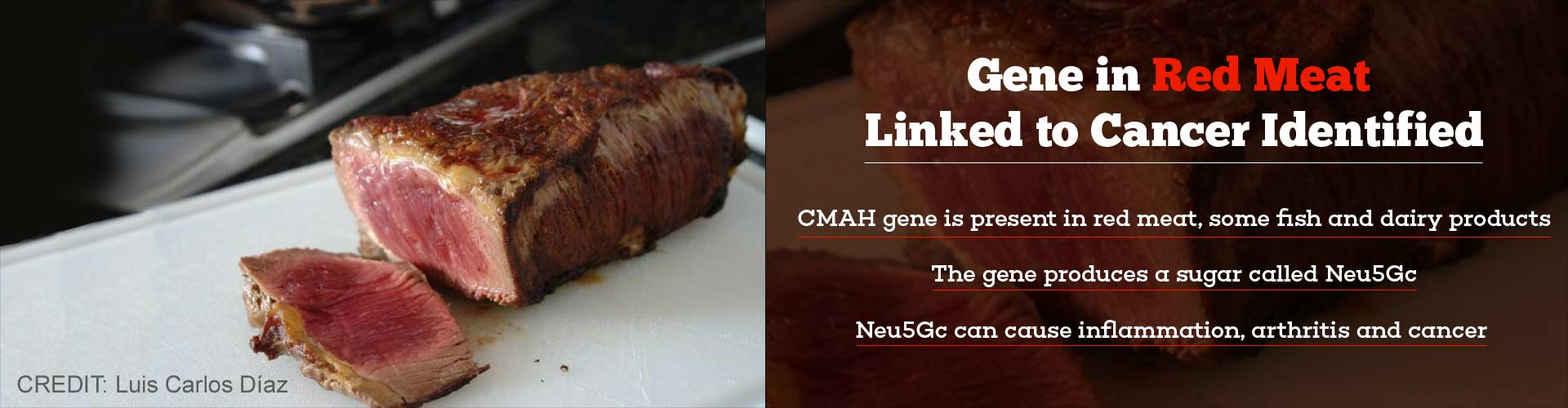 Red Meat Carries Gene That Causes Inflammation, Cancer
