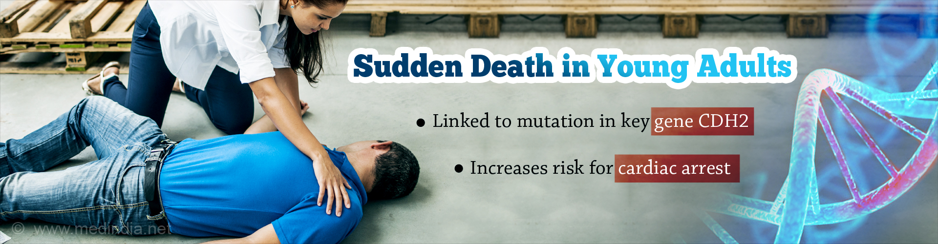 Sudden Death in the Young and in Athletes Linked to Gene Mutation