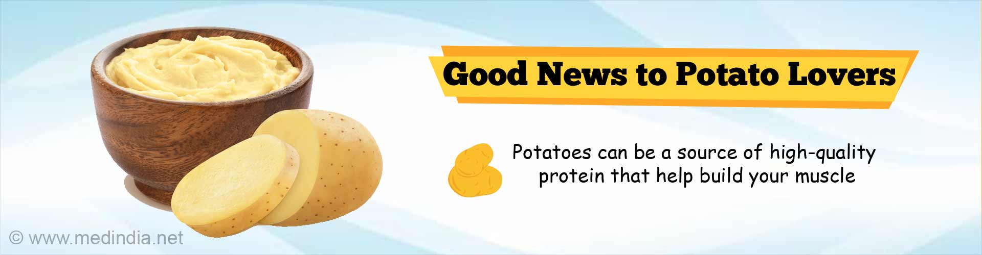 Potato Power: High Quality Protein in Spuds Build Women`s Muscle