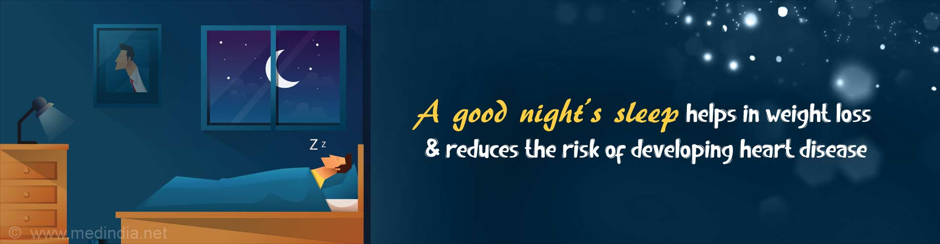 Good Sleep Habits Help You Lose Weight and Fight Heart Disease