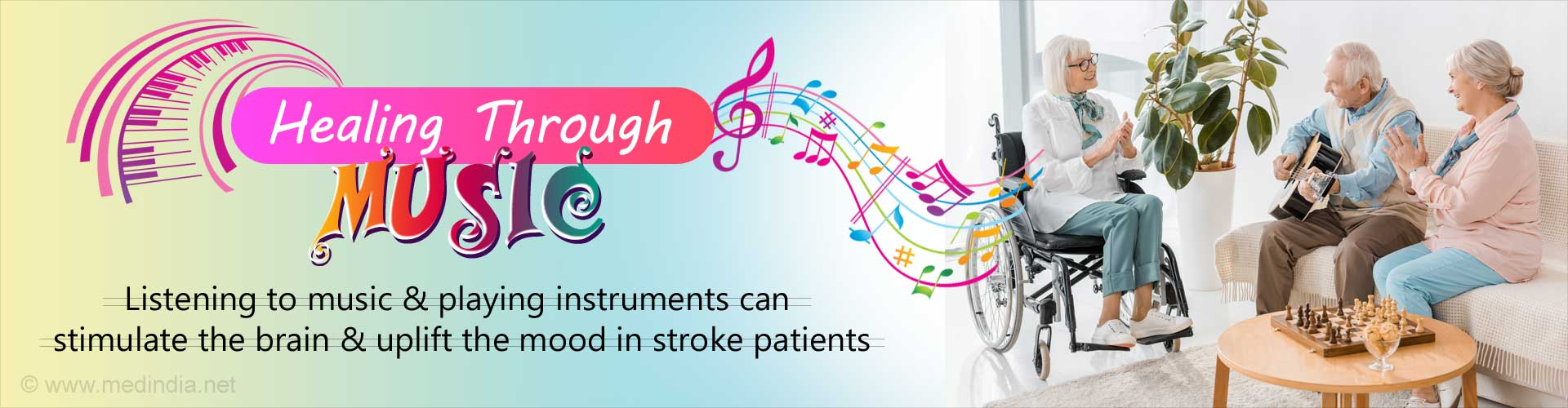Listening to Music may Help Stroke Patients Recover Faster