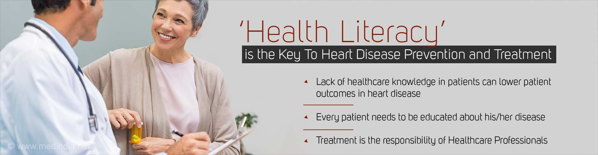 Insufficient Healthcare Knowledge Major Impediment To Heart Disease Management