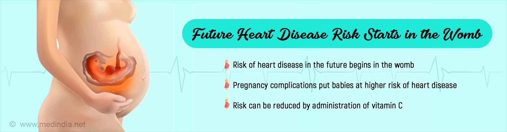 Heart Disease Risk Starts in the Womb: Here''s How