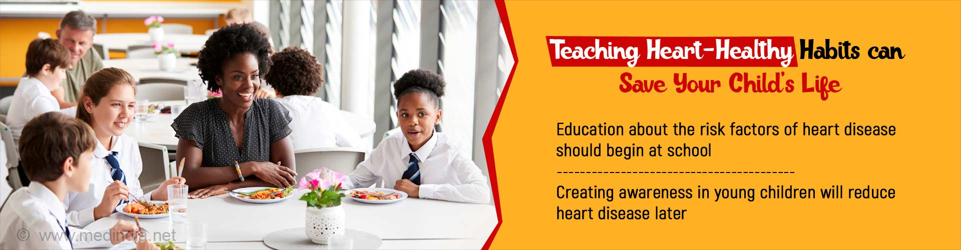 Promote Heart-Healthy Lifestyle in Schools can Prevent Cardiovascular Deaths
