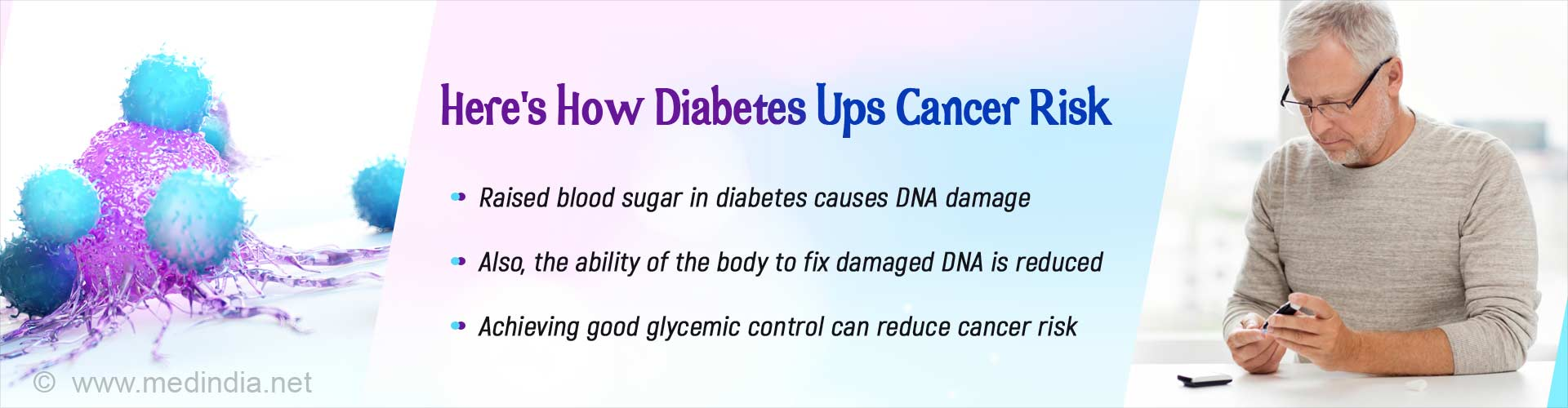 Diabetes Increases Cancer Risk: Here's How