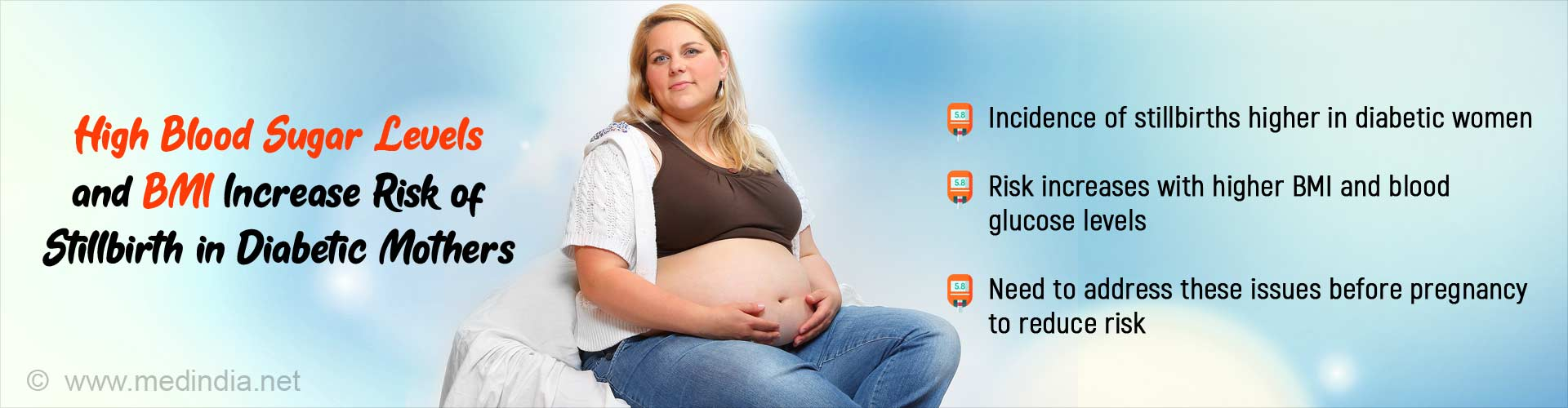 Obese, Diabetic Pregnant Women More Likely to Suffer Stillbirths