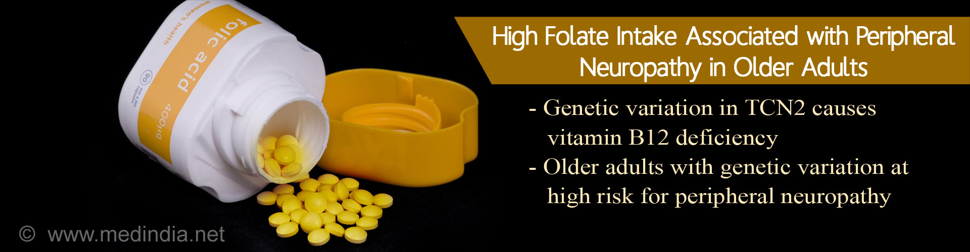 Excess Folate Intake Associated With Peripheral Neuropathy In Older Adults