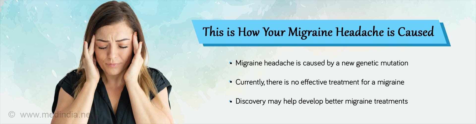 New Genetic Mechanism Underlying Migraines Discovered