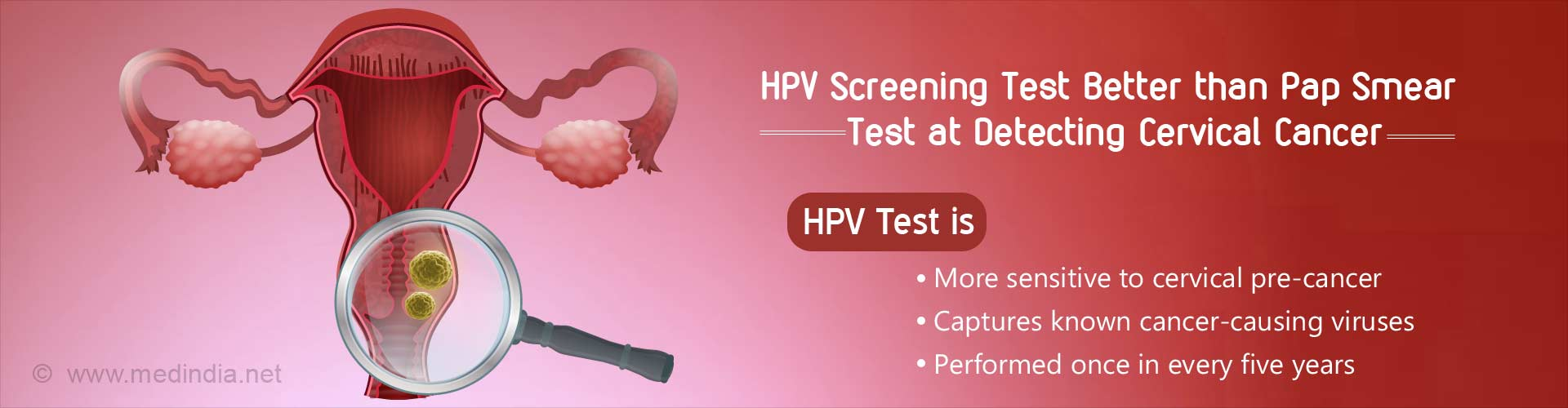 HPV Screening Test Might Just be Enough for Cervical Cancer Detection