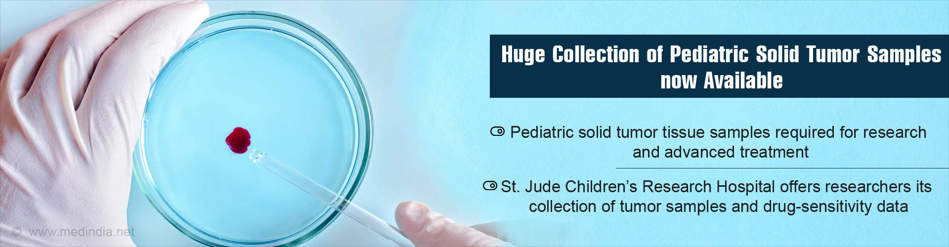 St. Jude Children�s Research Hospital Creates a Powerful Resource of Pediatric Tumor Samples