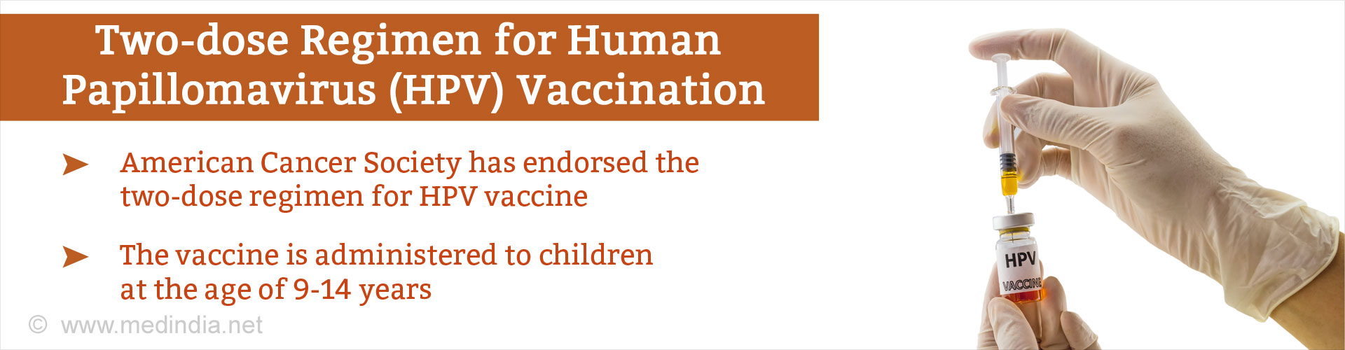 Endorsing Two-Dose Regimen for Human Papillomavirus (HPV) Vaccination