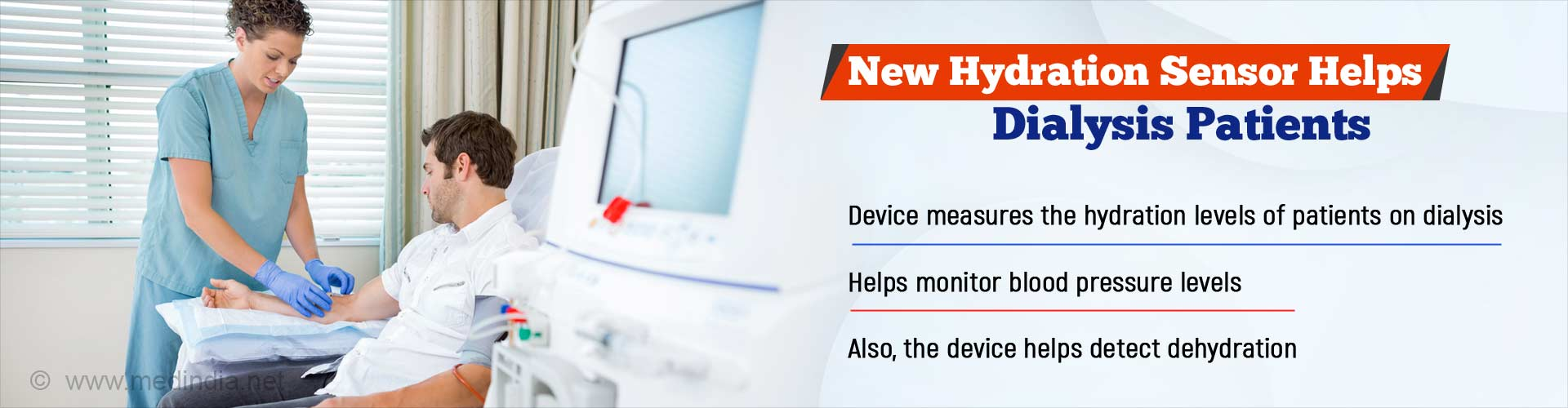 New Hydration Sensor Device Improves Dialysis Outcomes