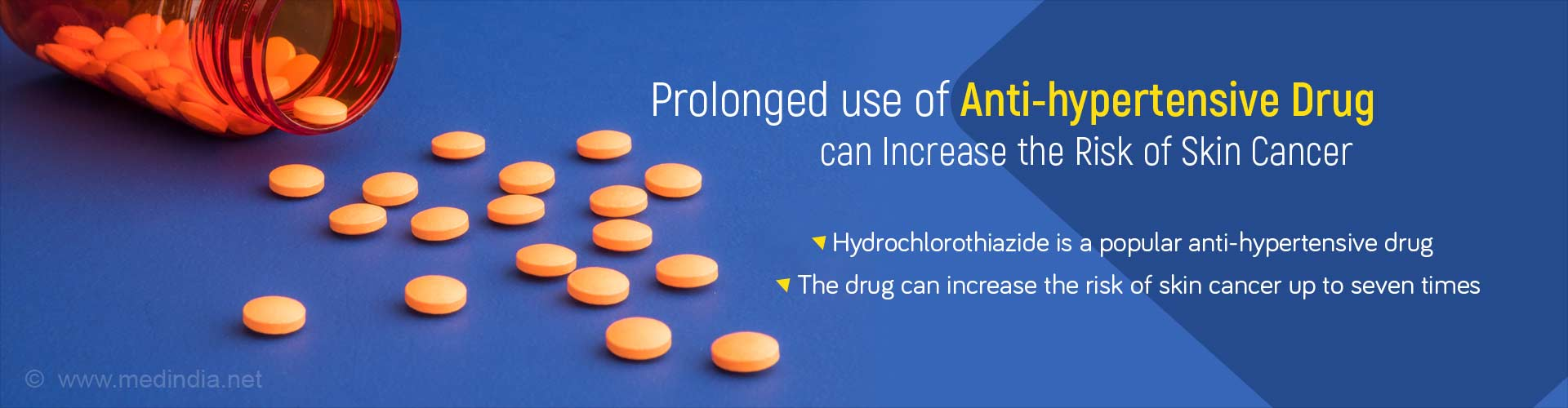 Blood Pressure Medication Hydrochlorothiazide Linked to Skin Cancer
