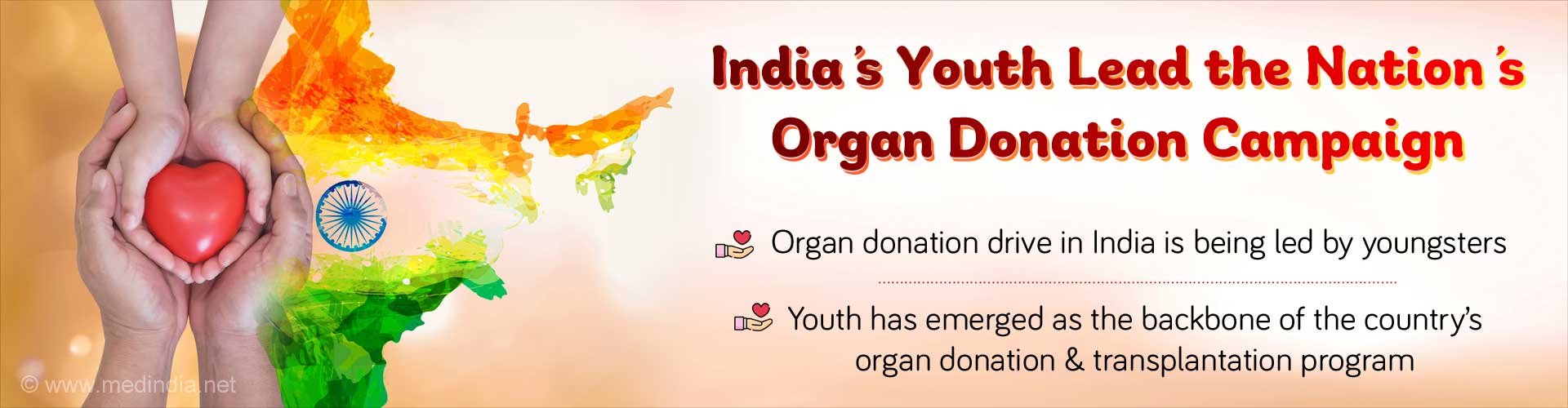 Organ Donation Drive in India Led by Youngsters