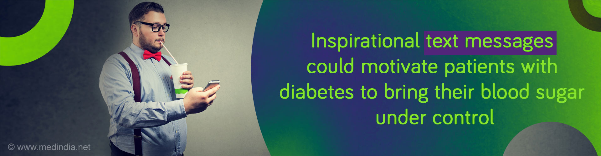 Motivational Text Messages May Help Diabetics Control Their Blood Sugar