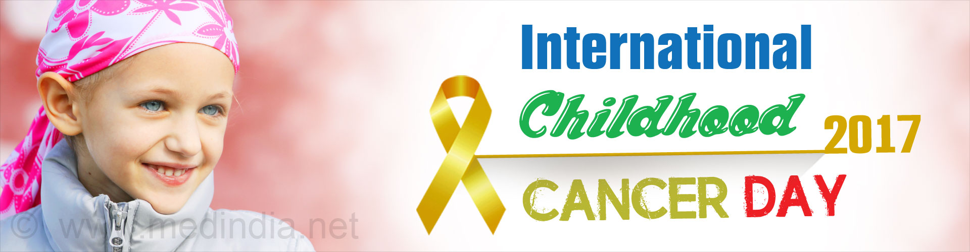 International Childhood Cancer Day 2017
