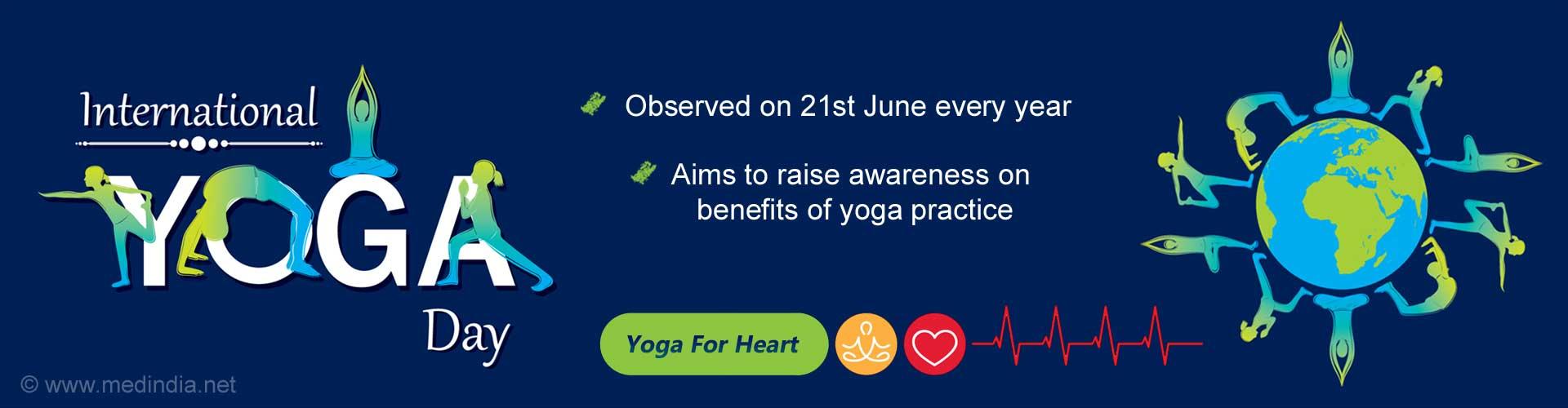 Yoga For Heart: International Day of Yoga