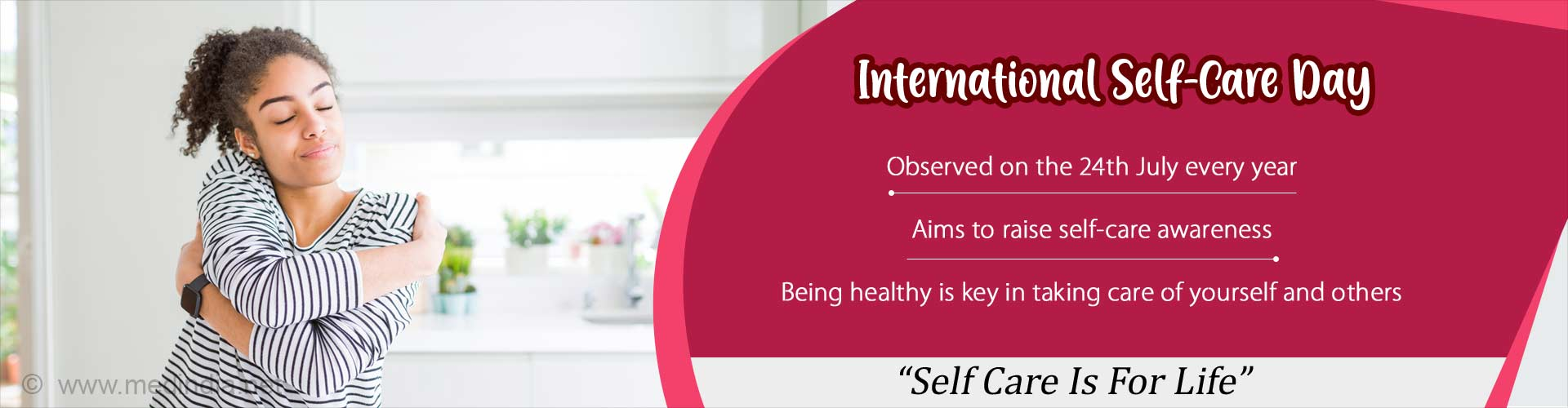 International Self-Care Day – Treat Yourself to Better Health