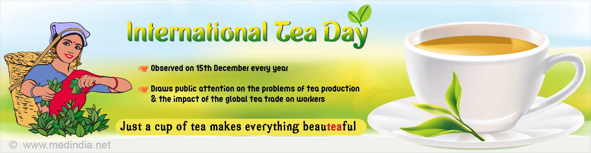 International Tea Day: Just a Cup of Tea Can Make Indians Happy
