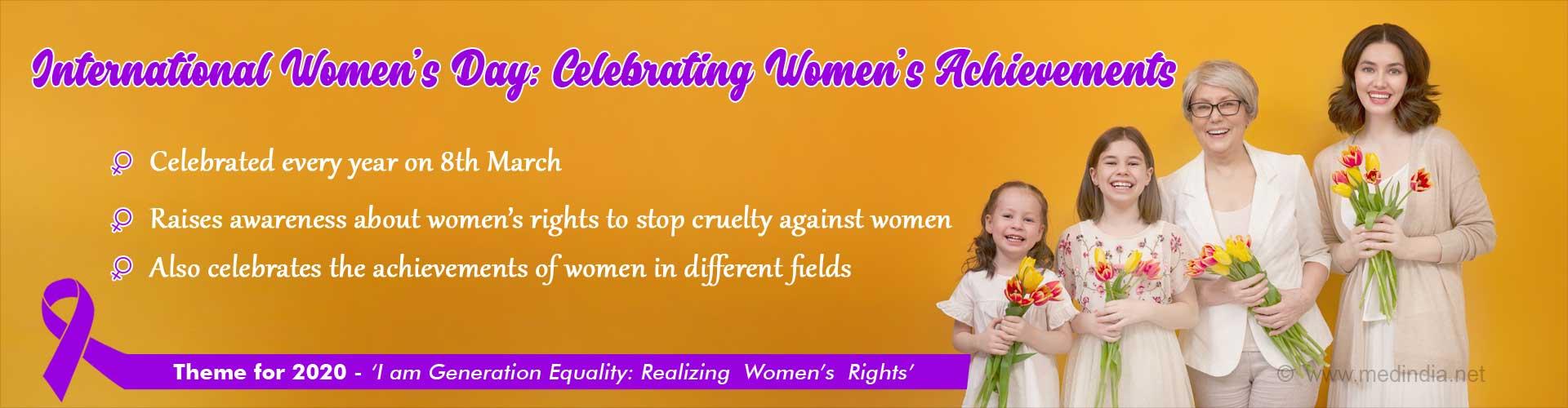 International Women's Day: Let's Build a Gender Equal World