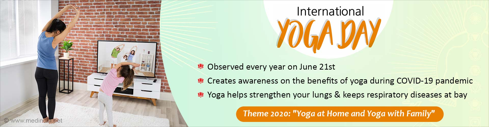 International Yoga Day: Yoga at Home and Yoga With Family