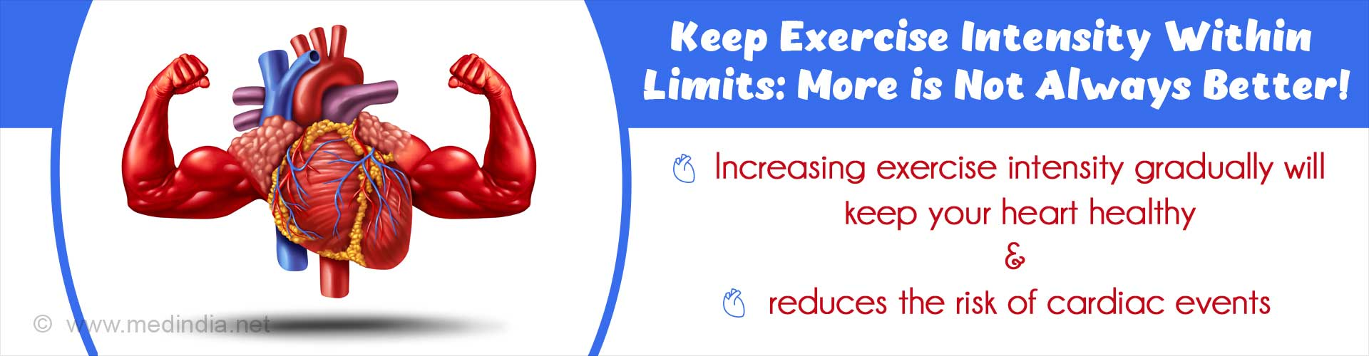 Slowly Increasing Exercise Intensity is Good for the Heart