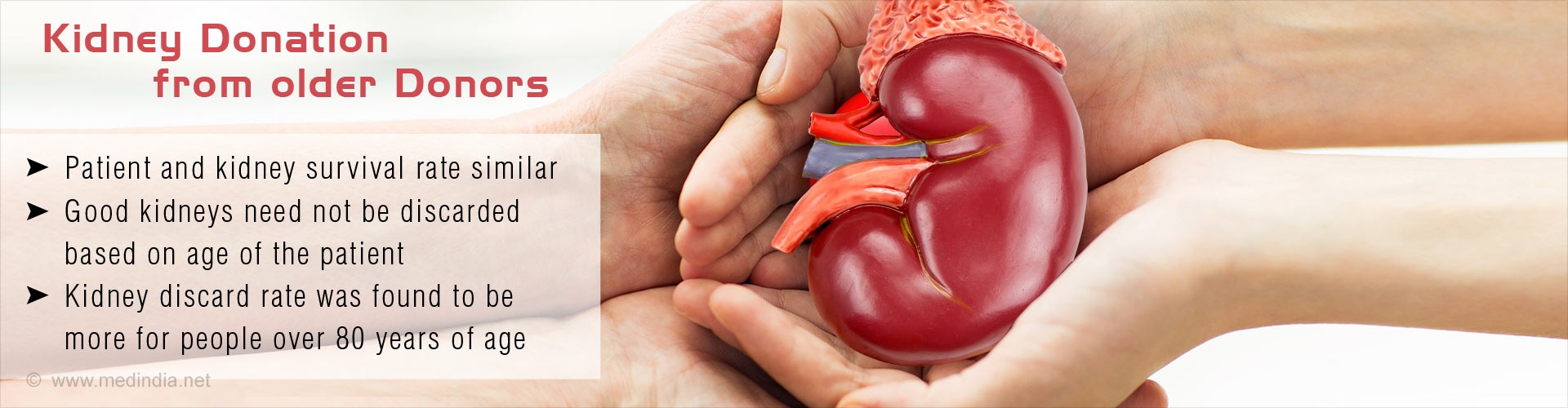 Organ Donation After Death at Old Age is Found Effective