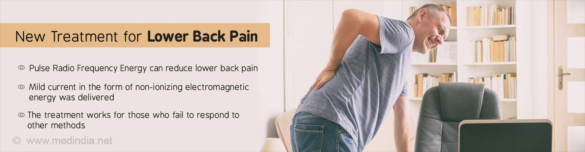 Low Back Pain Treatment With Mild Electric Current