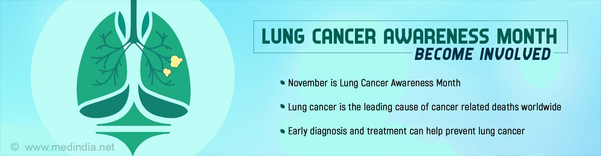 Lung Cancer Awareness Month - Improving Lung Cancer Survival