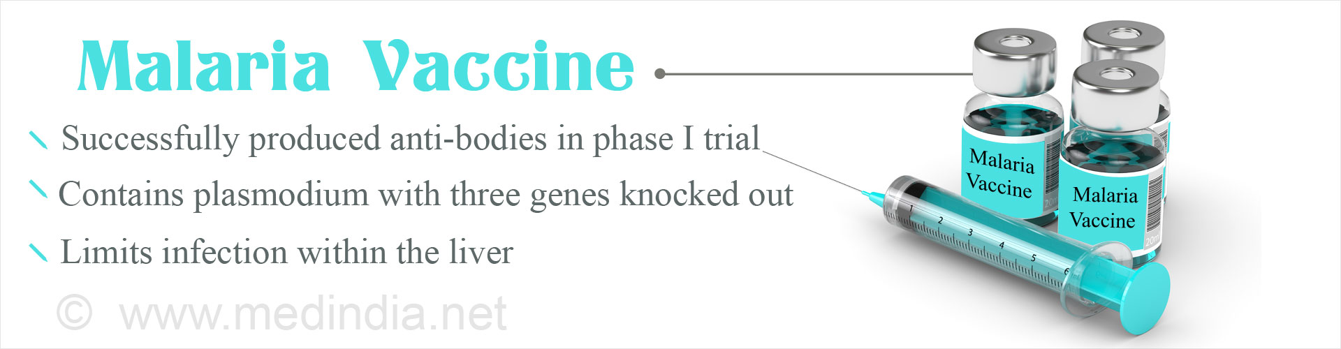 Malaria Vaccine With Three Genes Altered Passes Phase 1 Human Trial