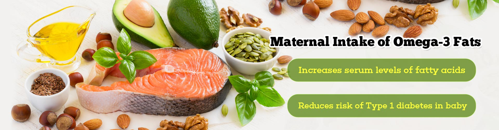 Does Maternal Intake of Omega-3 Fats Lower Type 1 Diabetes Risk in Baby