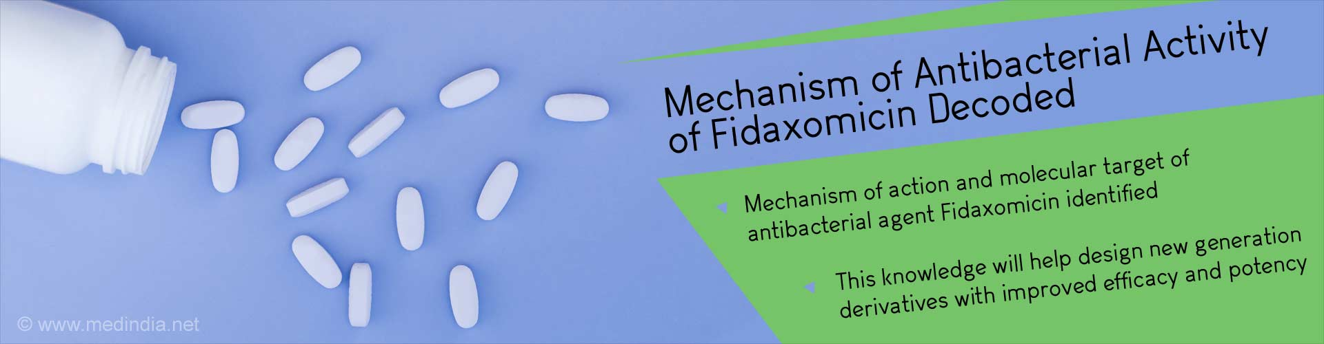 Breakthrough In Identifying Molecular Target and Mode of Action of Fidaxomicin