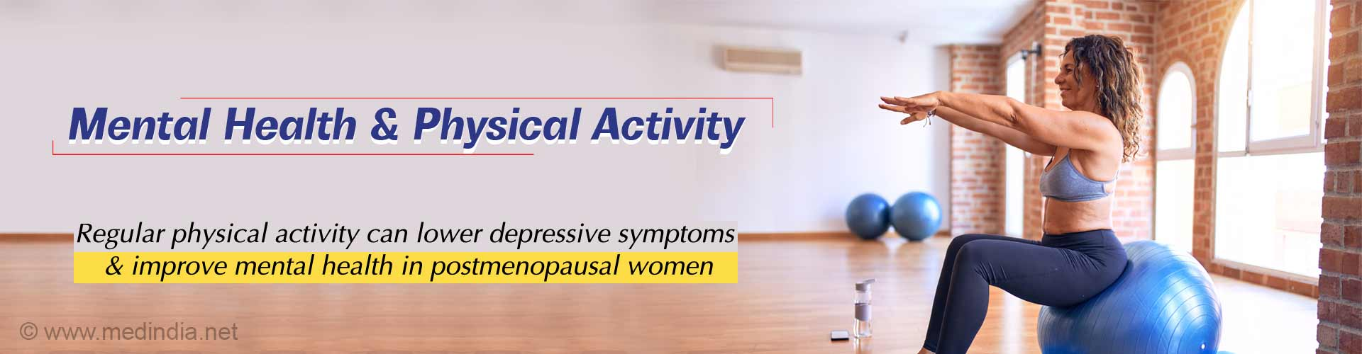 Physical Activity Beneficial for Mental Well-Being in Postmenopausal Women