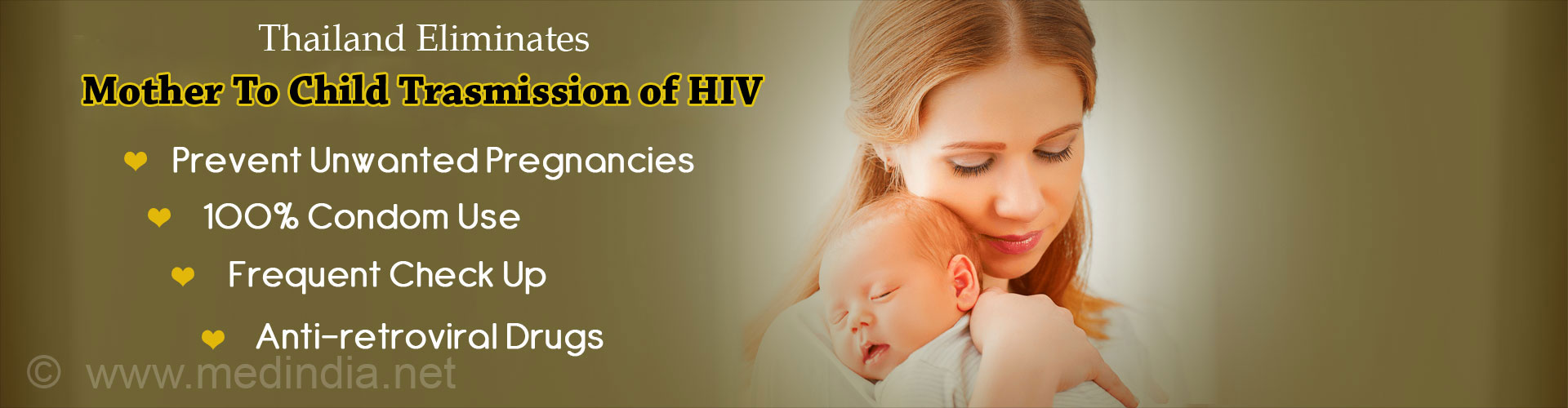 Thailand Successfully Eliminates Mother to Child Transmission of HIV